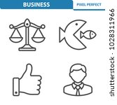 business icons. professional ... | Shutterstock .eps vector #1028311966