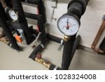 pressure control device in home ... | Shutterstock . vector #1028324008