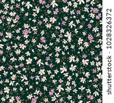 floral seamless pattern....   Shutterstock .eps vector #1028326372