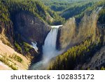 Grand Canyon Of The Yellowstone ...