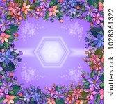 illustration of abstract... | Shutterstock . vector #1028361322