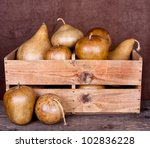 Decorative Gourds In An Old...