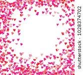 heart symbol hand drawn sketch... | Shutterstock .eps vector #1028374702