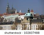 Prague   Hradcany And St. Vitus ...