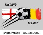 flags of england and belgium    ...   Shutterstock .eps vector #1028382082