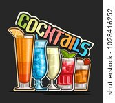 vector illustration of set... | Shutterstock .eps vector #1028416252