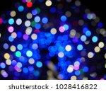 abstract blurry bokeh... | Shutterstock . vector #1028416822