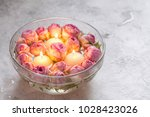 beautiful pink roses and... | Shutterstock . vector #1028423026