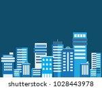 buildings flat style  cityscape ...   Shutterstock .eps vector #1028443978