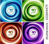 Spiral Line Swirl Background