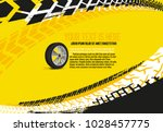 vector automotive banner... | Shutterstock .eps vector #1028457775