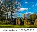 Old Benedictine Abbey Ruins In...