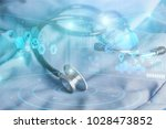 online medical and healthcare | Shutterstock . vector #1028473852