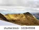 Sharp Edged Ridge Leading To A...