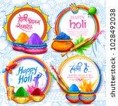 illustration of colorful... | Shutterstock .eps vector #1028492038
