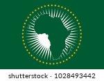 an african union flag design   Shutterstock .eps vector #1028493442