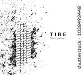 tire track impression. vector... | Shutterstock .eps vector #1028493448