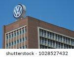 wolfsburg  lower saxony  ... | Shutterstock . vector #1028527432