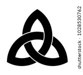 triquetra ornament with...   Shutterstock .eps vector #1028530762
