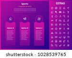sports options infographic... | Shutterstock .eps vector #1028539765
