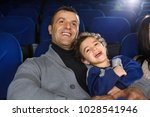 adorable little boy laughing... | Shutterstock . vector #1028541946