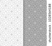 set of geometric ornaments.... | Shutterstock .eps vector #1028564188