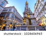 vienna  austria   january 17 ... | Shutterstock . vector #1028606965