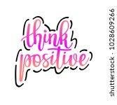 think positive vector...   Shutterstock .eps vector #1028609266