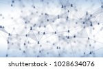 concept of social network ... | Shutterstock . vector #1028634076