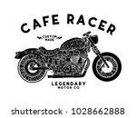 cafe racer t shirt design... | Shutterstock .eps vector #1028662888