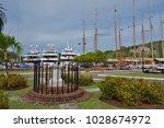 st john s  antigua and barbuda  ... | Shutterstock . vector #1028674972
