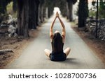 Small photo of Carefree calm woman meditating in nature.Finding inner peace.Yoga practice.Spiritual healing lifestyle.Enjoying peace,anti-stress therapy,mindfulness meditation.Positive energy.Controling mind