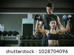 asian people sport girl doing...   Shutterstock . vector #1028704096