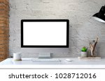 Mockup Of Creative Desktop Of...