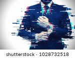 young business professional... | Shutterstock . vector #1028732518
