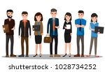 business people teamwork.... | Shutterstock .eps vector #1028734252