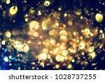 golden glitter texture... | Shutterstock . vector #1028737255