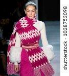 new york  ny   february 11 ...   Shutterstock . vector #1028753098
