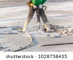 Worker Of Road Construction...