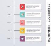 timeline infographic design... | Shutterstock .eps vector #1028805532