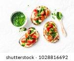 mozzarella cheese  cherry... | Shutterstock . vector #1028816692