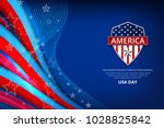 flag of usa background for... | Shutterstock .eps vector #1028825842