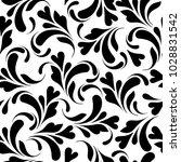 floral seamless pattern.... | Shutterstock .eps vector #1028831542