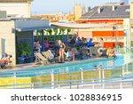 barcelona  spain   june 12 ... | Shutterstock . vector #1028836915