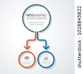 vector infographic template for ... | Shutterstock .eps vector #1028845822