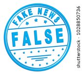 "rubber stamp with text ""false ... 