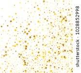 golden stars background.... | Shutterstock .eps vector #1028852998