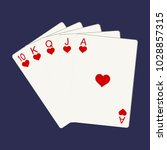 casino gambling win luck... | Shutterstock .eps vector #1028857315