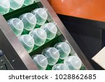 high technology plastic cup... | Shutterstock . vector #1028862685