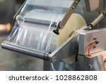 automatic packing machine with... | Shutterstock . vector #1028862808